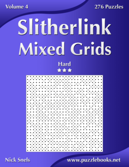 Slitherlink Mixed Grids - Hard - Volume 4 - 276 Puzzles