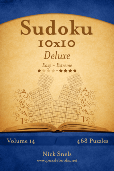 Sudoku 10x10 Deluxe - Easy to Extreme - Volume 14 - 468 Puzzles