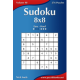 Sudoku 8x8 - Easy to Hard - Volume 48 - 276 Puzzles