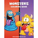 Monsters Coloring Book 1