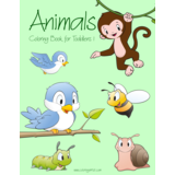 Animals Coloring Book for Toddlers 1