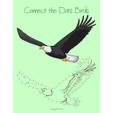 Connect the Dots Birds for Kids 1