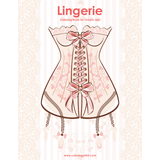 Lingerie Coloring Book for Grown-Ups 1