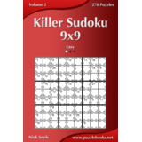 Killer Sudoku 9x9 - Easy - Volume 2 - 270 Puzzles