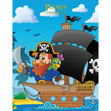 Pirates Coloring Book 1