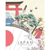 Japan Coloring Book for Grown-Ups 1