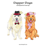 Dapper Dogs Coloring Book for Grown-Ups 1