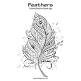 Feathers Coloring Book for Grown-Ups 1