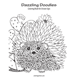 Dazzling Doodles Coloring Book for Grown-Ups 1