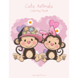 Cute Animals Coloring Book 1