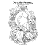 Doodle Frenzy Coloring Book for Grown-Ups 1 & 2