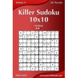 Killer Sudoku 10x10 - Medium - Volume 9 - 267 Puzzles