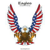 Eagles Coloring Book for Grown-Ups 1
