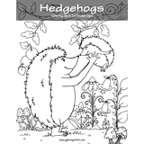 Hedgehogs Coloring Book for Grown-Ups 1