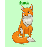 Animals Kids Coloring Book 1 & 2