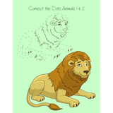 Connect the Dots Animals for Kids 1 & 2