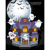Ghosts Coloring Book 1