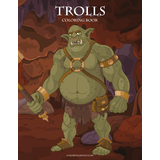 Trolls Coloring Book 1