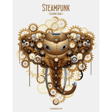 Steampunk Coloring Book 1