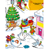 Christmas Animals Coloring Book 4