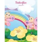 Butterflies Coloring Book 1