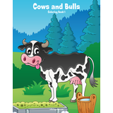 Cows and Bulls Coloring Book 1
