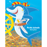 Pirate Animals Coloring Book 1