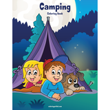 Camping Coloring Book 1