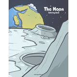 The Moon Coloring Book 1