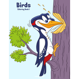 Birds Coloring Book 1