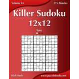Killer Sudoku 12x12 - Easy - Volume 14 - 276 Puzzles