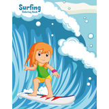 Surfing Coloring Book 1
