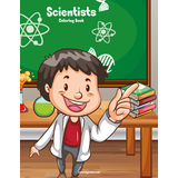 Scientists Coloring Book 1