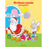 Christmas Animals Coloring Book 5