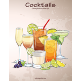 Cocktails Coloring Book for Grown-Ups 1