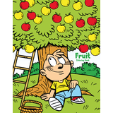 Fruit Coloring Book 1