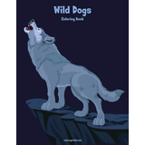 Wild Dogs Coloring Book 1