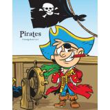Pirates Coloring Book 1 & 2