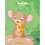 Rodents Coloring Book 1