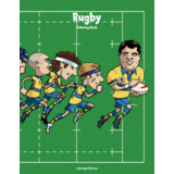 Rugby Coloring Book 1
