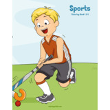 Sports Coloring Book 1 & 2
