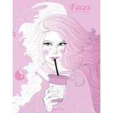 Faces Coloring Book for Grown-Ups 5 & 6