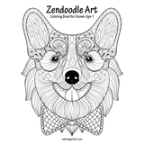 Zendoodle Art Coloring Book for Grown-Ups 1