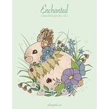 Enchanted Coloring Book for Grown-Ups 1, 2 & 3