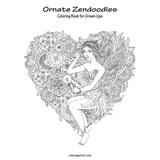 Ornate Zendoodles Coloring Book for Grown-Ups 1